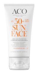 ACO Sun Hydrating Face Sun Cream SPF 50+, крем для лица, 50 мл.