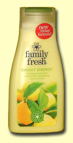 Гель для душа Family Fresh bright energy, цитрус, 500 мл.