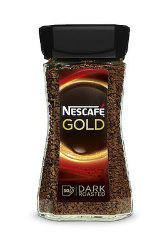 Кофе растворимый Nescafe Gold Dark, 100 гр.
