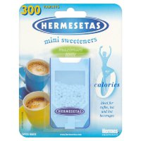 Заменитель сахара Hermesetas Mini Sweeteners, 300 шт.