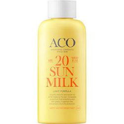 ACO Sun Ultra Light Milk SPF 20, молочко, 200 мл.
