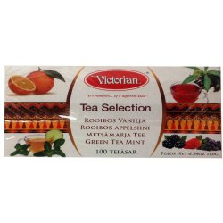 Чай ассорти Victorian Tea Selection, 100 пак.
