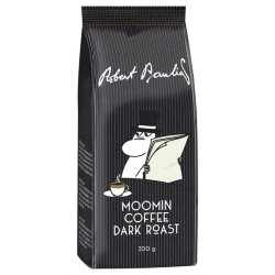 Кофе молотый Robert Paulig Moomin coffee Dark Roast, 200 гр.
