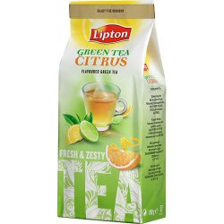 Чай зеленый Lipton Green Tea Citrus, 150 гр.