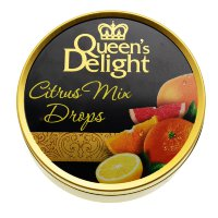 Леденцы Queens Delight Citrus Mix drops, цитрус, 150 гр.
