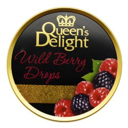 Леденцы Queens Delight Wild Berry drops, лесные ягоды, 150 гр.