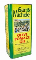 Оливковое масло San-Michele - Olive pomace oil, 5л.