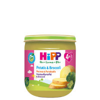 Hipp potatis broccoli, картошка с брокколи, с 4 мес., 125 гр.
