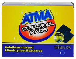 Губки с мылом Atma steel pods Lemon, 12 шт.