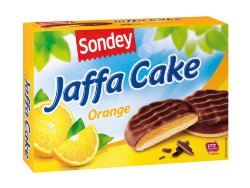 Печенье Sondey Soft Cake orange, 300 гр.