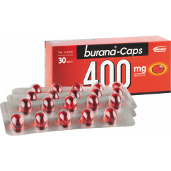 Burana-Caps 400mg Ибупрофен, 30 капс.