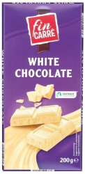 Шоколад белый Fin Carre White Chocolate, 200 гр.