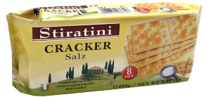 Крекеры с солью Stiratini Crackers Salz, 250 гр. Крекеры с солью