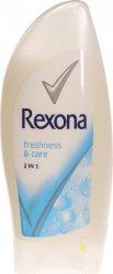 Гель для душа Rexona Freshness & Care 2 в 1, 250 мл.