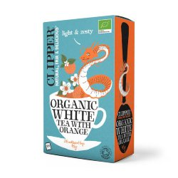 Чай белый Clipper Organic White Tea with orange, 20 пак