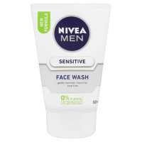 Nivea для мужчин Face Wash Sensitive, 100 мл.