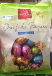 Favorina Chocolate Eggs, 200 гр.