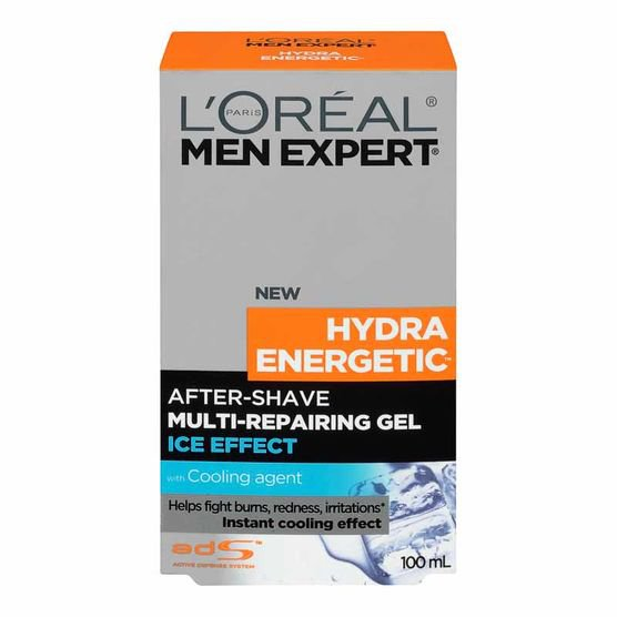 Гель после бритья L'Oreal Men Expert Hydra Energetic Multi-Action, с охлаждающим эффектом, 100 мл.