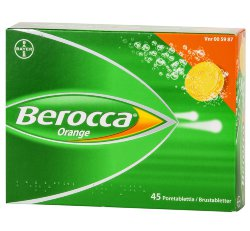 Поливитамины Bayer Berocca orange с 11 лет, 45 шт