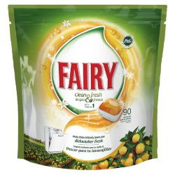 Таблетки для ПММ Fairy Fresh Orange All in One, 60 шт.