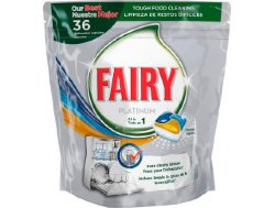 Таблетки для ПММ Fairy Platinum Lemon All in One, 36 шт.