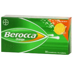 Поливитамины Bayer Berocca orange с 11 лет, 30 шт