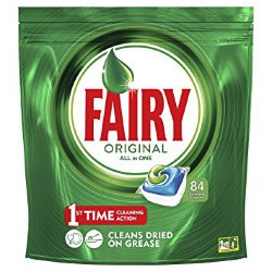 Таблетки для ПММ Fairy Original All in One, 84 шт.