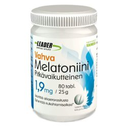 Мелатонин Leader Vahva Melatoniini 1,9 mg, 80 таб