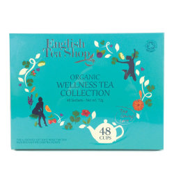 Чай коллекционный English Tea Shop Organic wellness collection, 48 пак.