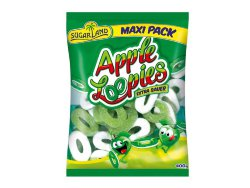 Мармелад SugarLand Apple Loopies Extra Sour, 400 гр.