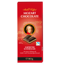 Шоколад темный с марципаном Mozart dark chocolate, 143гр