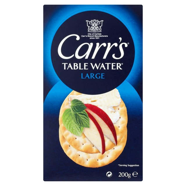 Carr's Table Water Large, крекеры, 200 гр.