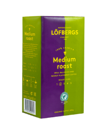 Кофе молотый Lofbergs ECO Medium Roast, 2 ст. обжарки, 500 гр.