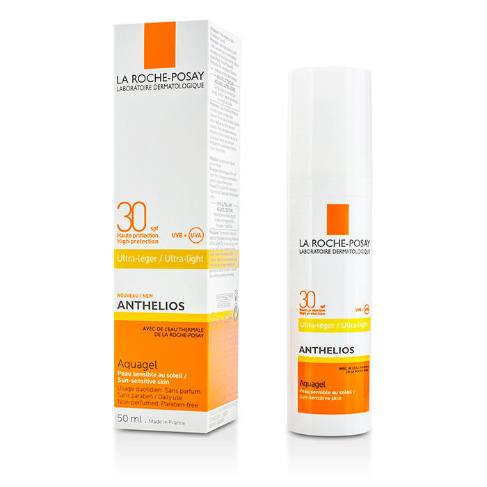 Аквагель SPF 30 La Roche-Posay Anthelios 30 Ultra-Light Aquagel, 50 мл.