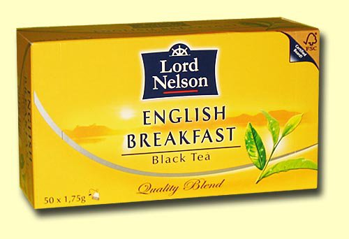Чай черный Lord Nelson English Breakfast , 50 пак.
