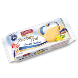 Печенье без сахара Coppenrath Zuckerfrie vanille cookies, ваниль, 200 гр